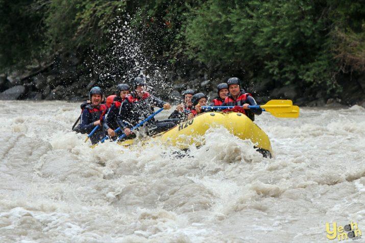 Rafting im Inntal
